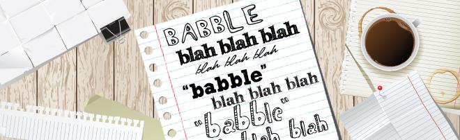 Εικόνα Κεφαλίδας Τι σημαίνει Babble